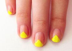 Neon Manicure DIY