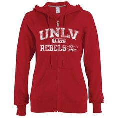 Russell UNLV Rebels Fleece Hoodie ($35) ❤ liked on Polyvore