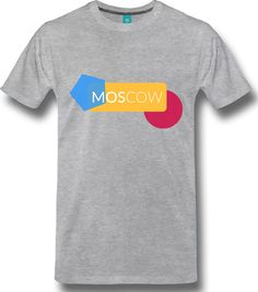 I love Moscow! Free Shipping Tshirt design