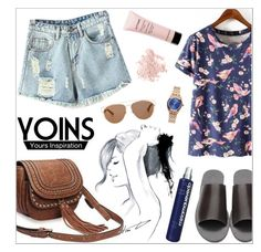 """""""yoins19"""" by nastenkakot ❤ liked on Polyvore featuring GE, Christian Dior, Bare Escentuals, Givenchy, Nixon, Miriam Quevedo, yoins, yoinscollection and loveyoins"""