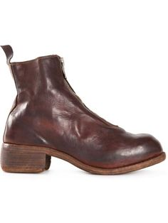 GUIDI Front Zip Boots. #guidi #shoes #boots