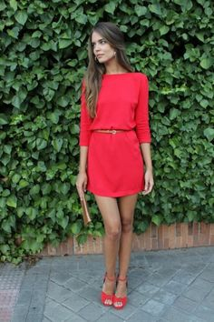 little red dress, lady in red, fashion, style, beautiful