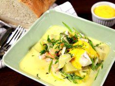 Svensk fisksoppa med fransk rouille | Recept.nu