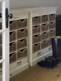 Beachhouse | Long Island | Riviera Maison | Heels and slippers cabinet