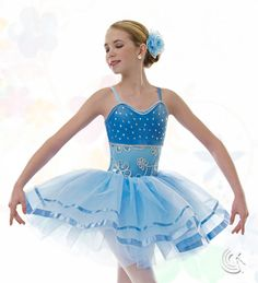 Curtain Call Costumes® - So Much Love This ballet dance costume would be perfect with a glass slipper!
