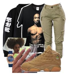"""""""Bump, Bump, Bump By: B2K"""" by killerstoner on Polyvore featuring NIKE and GUESS"""