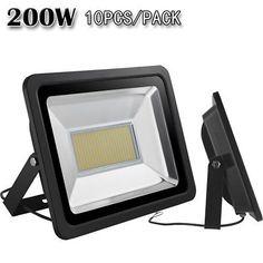10X 200W LED Flood light Warm White Outdoor Landscape Lamp Spotlight Floodlights