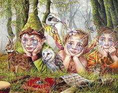 Fairy children by Jim Colorex.
