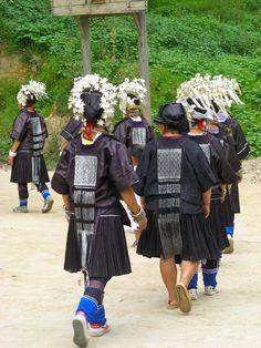 Miao, Jiupang style, Jianhe County, Guizhou, China