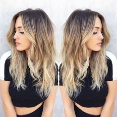 10 stylish blonde balayage color designs - love this hair