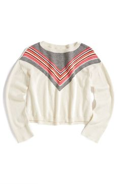 Tucker+++Tate+Cotton+&+Cashmere+Swing+Sweater+(Little+Girls+&+Big+Girls)+available+at+#Nordstrom