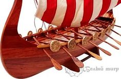 Корабль Викингов 60 см.