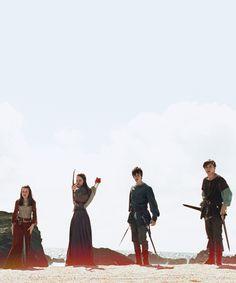 Le monde de Narnia : Lucy, Suzanne, Edmund et Peter Pevensie