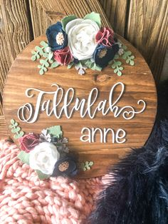 Dog Lover Gifts, Dog Gifts, Gift For Lover, Gorgeous Girl Names, Middle Names For Girls, Felt Succulents, Shine The Light, Nursery Signs, Custom Wood Signs