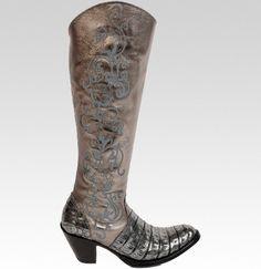 super sweet metallic Old Gringo Boots