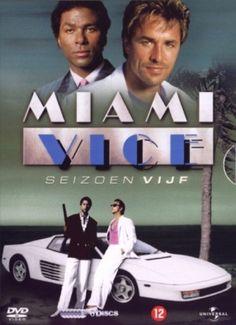 MIAMI VICE SEIZOEN 5 : 6-DVD-BOX w/DON JOHNSON & PHILIP MICHAEL THOMAS (S. VIJF)