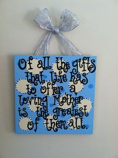 Items similar to Decorative Handmade Signs on Etsy Handmade Signs, Sign I, To My Daughter, House Ideas, Craft Ideas, Times, Sayings, Day, Quotes