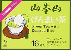 Yamamotoyama  Genmai Cha Brown Rice Tea 16 bags >>> You can find out more details at the link of the image.Note:It is affiliate link to Amazon.
