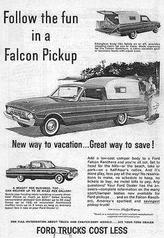 1964 Ford Accessories Brochure 64 Fairlane Galaxie Falcon Thunderbird Pickup
