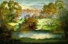 Федоскинские пейзажи