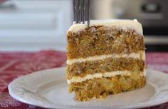 Vanilla Cake, Desserts, Food, Candies, Tailgate Desserts, Meal, Dessert, Eten, Meals