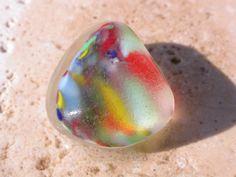 Rare multicolored sea glass that we found in Puerto Rico www.naturalseaglass.com