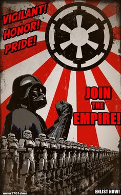 Join the empire. Da da da!