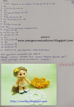 Amigurumi Aşkına: Amigurumi Bebek Yapılışı- Amigurumi Free Pattern