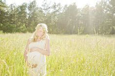 Woodland Maternity Session