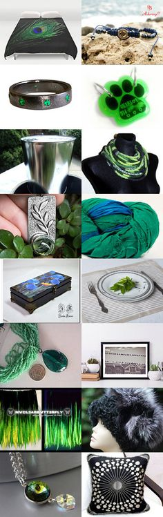 Green and black by Chris on Etsy--Pinned+with+TreasuryPin.com