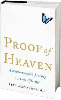 Proof of Heaven by Dr. Eben Alexander. An AMAZING read and one of the most convincing and profound arguments for God. An eye opening read! No pun intended.