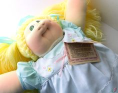 Original Cabbage Patch Doll Little People Hand by RenewedFinds, $259.99
