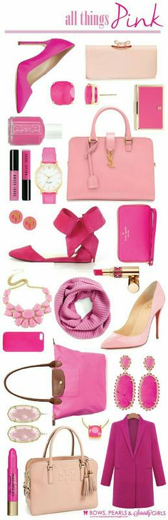 All things pink! #Rose #Pink