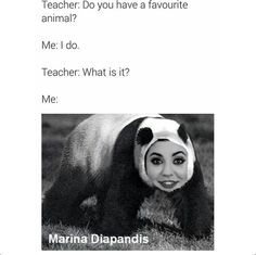 Marina and the Diamonds | Marina Meme