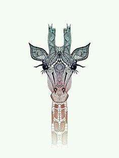 Geometric giraffe.