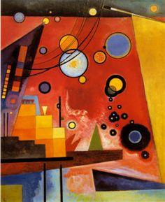 Wassily Kandinsky Heavy Red
