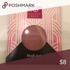 """New""MAKEUP GEEK ""Blush Pan"" New""puppy Love"" in package MAKEUP GEEK Makeup Blush"