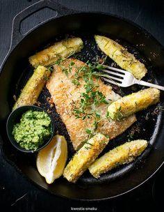 Ryba w parmezanowej panierce