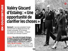 """J'ai vu ceci dans """"Giscard : """"Une opportunité de clarifier les choses"""""""" dans N° 2278 05-05-2016."""