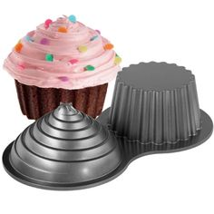 Wilton óriás cupcake forma / tapadásmentes/