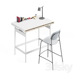 3d models: Office furniture - Studio High Table by Bene Office Furniture, Office Desk, Models, 3d, Studio, Table, Home Decor, Templates, Desk Office