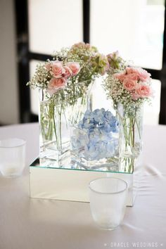 Pink and blue. Lydianobleevents.com Alabama Wedding Planner