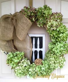 "I added ""Make a Dried Hydrangea Wreath that Looks Fresh"" to an #inlinkz linkup!http://shoestringelagance.blogspot.com/2016/10/how-to-make-dried-hydrangea-wreath-that.html"
