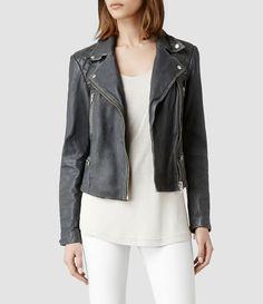 AllSaints Cargo Biker Jacket | Womens Biker Jackets