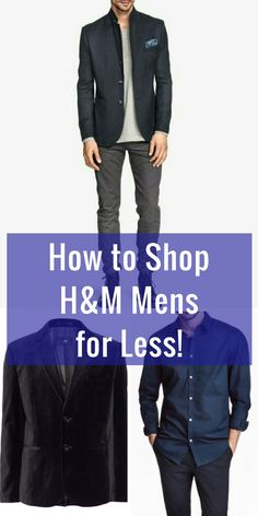 How to look good for less! Consignment deals on the latest men's fashion on our marketplace app.