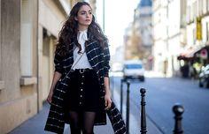 Black and white ~ Paris Fashion Week, Day 4 via @WhoWhatWear