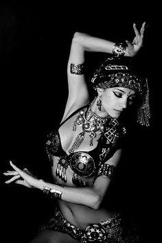 lovely tribal dancer