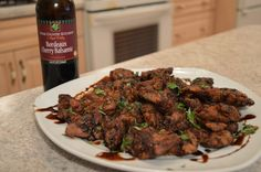 As an appetizer or main entrée, Napa Valley Bordeaux Cherry Balsamic Chicken Livers are a perfect idea.