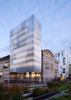 M3A2 Cultural and Community Tower / Antonini   Darmon Architectes / Paris, France