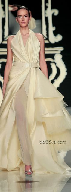 Abed Mahfouz Couture – Spring Summer 2012 – 2013 Collection .